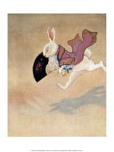 Alice in Wonderland - The White Rabbit by Gwynedd M^ Hudson