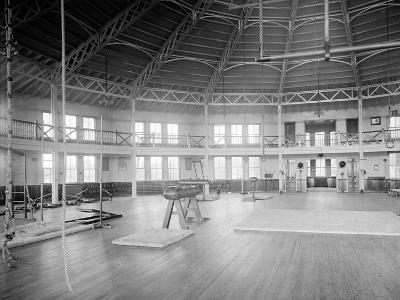 Gymnasium Interior, U.S. Naval Academy, C.1890-1901--Photographic Print