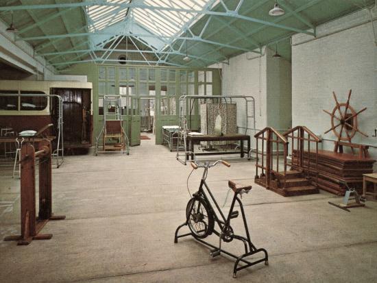 Gymnasium, Princess Mary's Hospital, Margate, Kent-Peter Higginbotham-Photographic Print