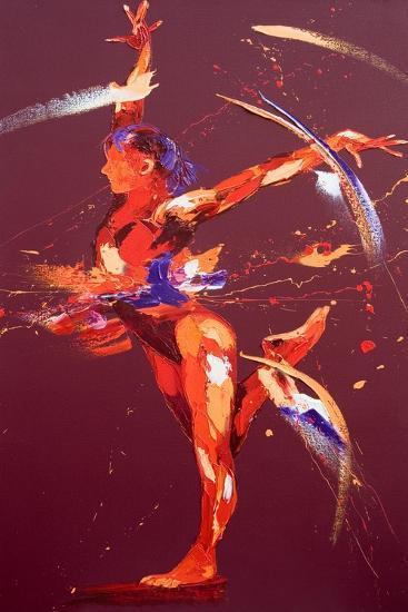 Gymnast Eight, 2011-Penny Warden-Giclee Print