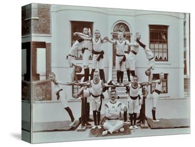 Gymnastics Display at the Boys Home Industrial School, London, 1900