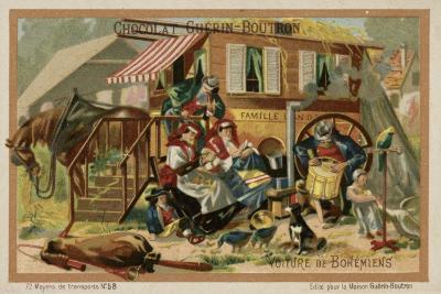 Gypsy Caravan--Giclee Print