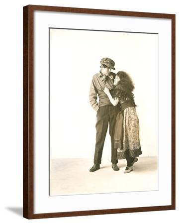 Gypsy Couple--Framed Photo
