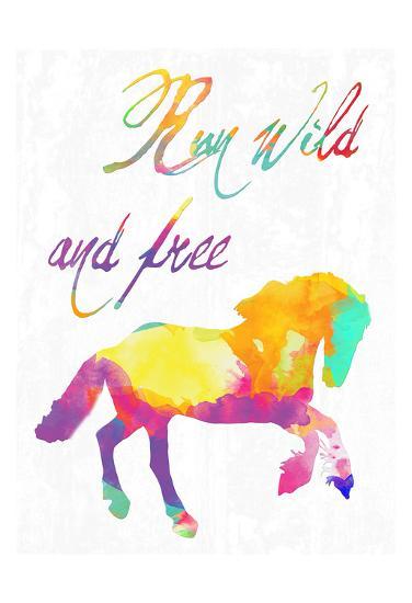 Gypsy Free-Sheldon Lewis-Art Print