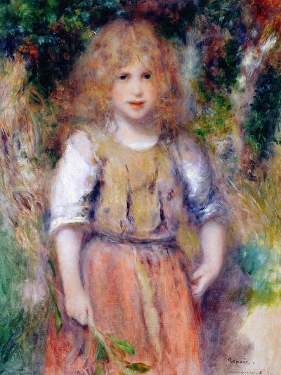 Gypsy Girl, 1879-Pierre-Auguste Renoir-Giclee Print