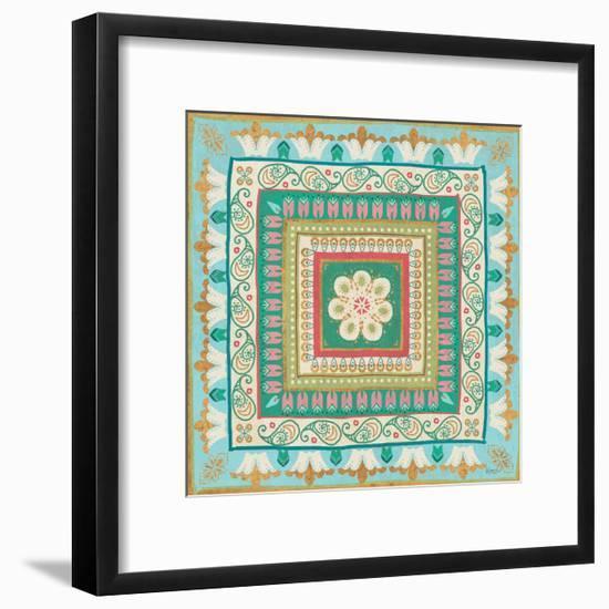 Gypsy Wings Bright VI-Veronique Charron-Framed Art Print