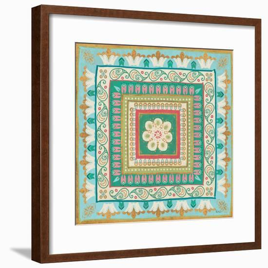 Gypsy Wings Bright VI-Veronique Charron-Framed Art Print