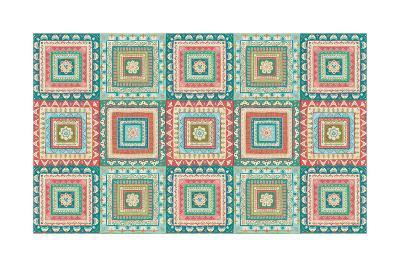 Gypsy Wings Bright X-Veronique Charron-Art Print
