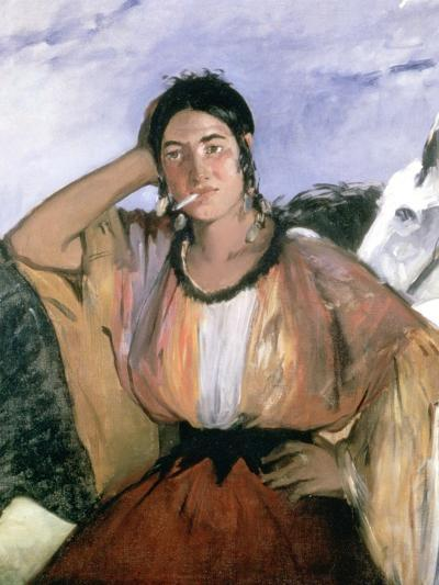 Gypsy with Cigarette, 1862-Edouard Manet-Giclee Print