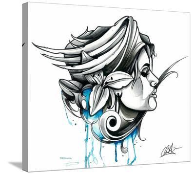 Gypsy-Chris Allen-Stretched Canvas Print