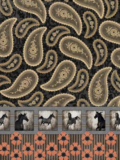 GypsyHorse CollectionSurfacePattern V2 9-LightBoxJournal-Giclee Print