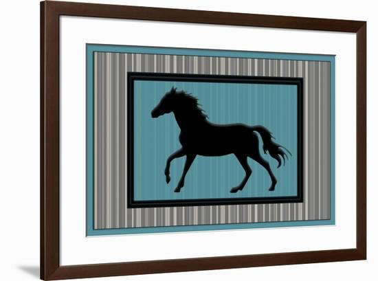 GypsyHorse CollectionSurfacePattern V3 2-LightBoxJournal-Framed Giclee Print