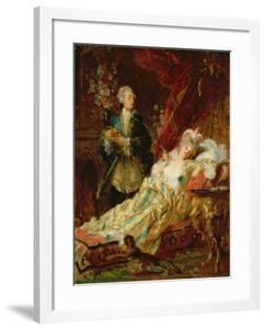 Louis XV and Madame Dubarry by Gyula Benczur