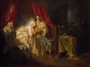 Prince Francis II Rakoczi Capturing Magisaros Castle, 1869 by Gyula Benczur
