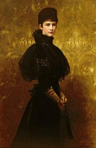 Queen Erzsebet by Gyula Benczur