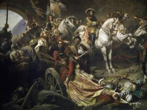 Reconquest of Buda Castle,1686 by Gyula Benczur