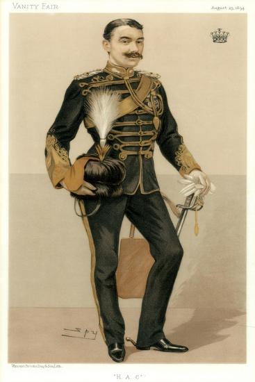 H a C, the Earl of Denbigh, 1894-Spy-Giclee Print