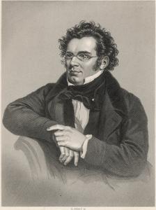 Franz Schubert by H Adlard