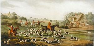 Going to Cover, Hunting by H Alken