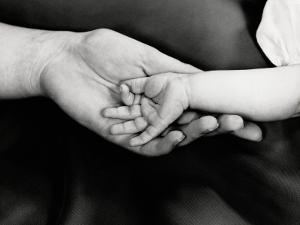 Holding Hands by H^ Armstrong Roberts