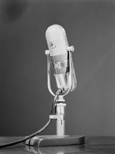 Microphone by H^ Armstrong Roberts
