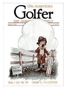 The American Golfer June 19, 1920 by H.B. Martin