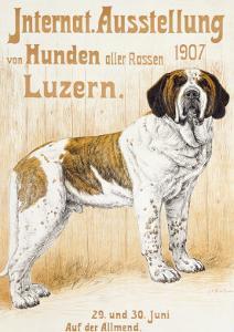 Austellung Von Hunden by H^ C^ Kaufmenn