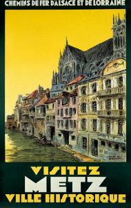 Visitez Metz by H. De Renancourt