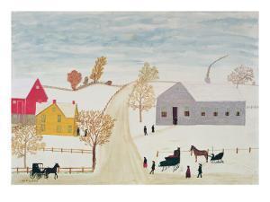 Amish Village by H^F^ Lang