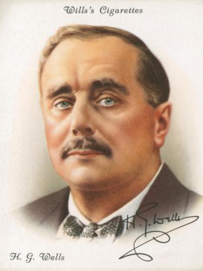 H. G. Wells-English School-Giclee Print