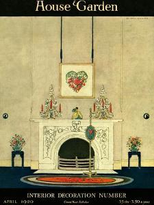 House & Garden Cover - April 1920 by H. George Brandt