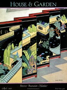 House & Garden Cover - April 1925 by H. George Brandt
