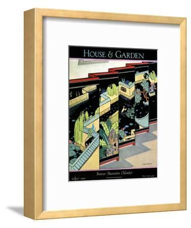 House & Garden Cover - April 1925