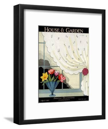 House & Garden Cover - April 1927