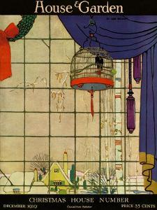 House & Garden Cover - December 1919 by H. George Brandt