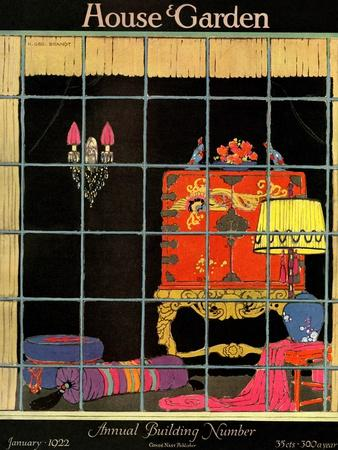 House & Garden Cover - January 1922