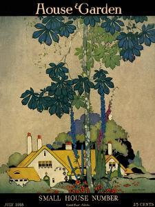 House & Garden Cover - July 1918 by H. George Brandt