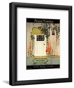 House & Garden Cover - July 1919 by H. George Brandt