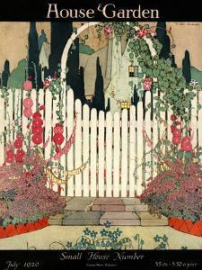 House & Garden Cover - July 1920 by H. George Brandt