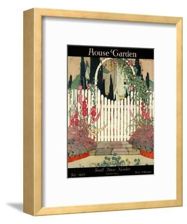 House & Garden Cover - July 1920