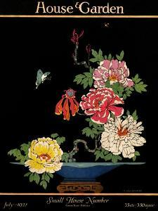 House & Garden Cover - July 1921 by H. George Brandt