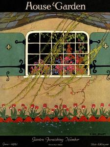 House & Garden Cover - June 1921 by H. George Brandt