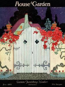 House & Garden Cover - June 1922 by H. George Brandt