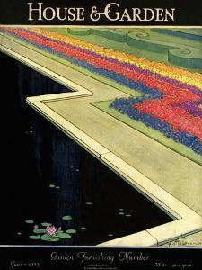 House & Garden Cover - June 1923 by H. George Brandt