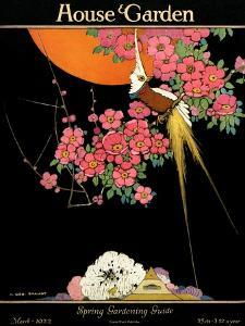 House & Garden Cover - March 1922 by H. George Brandt