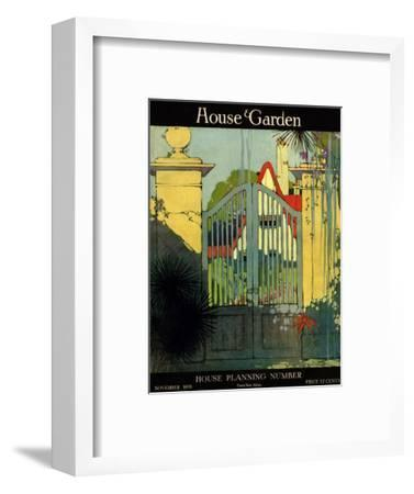 House & Garden Cover - November 1918