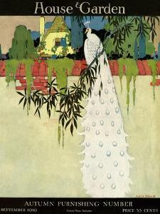 House & Garden Cover - September 1919 by H. George Brandt