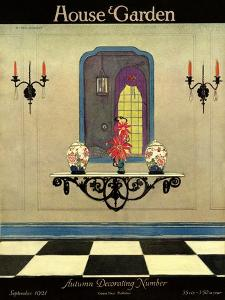 House & Garden Cover - September 1921 by H. George Brandt