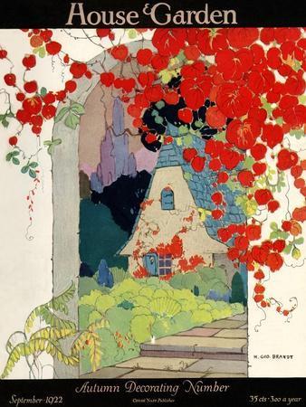 House & Garden Cover - September 1922