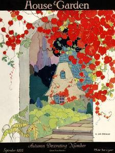 House & Garden Cover - September 1922 by H. George Brandt